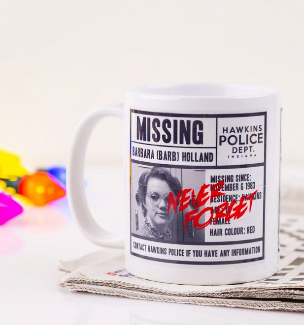 Stranger Things Missing Barb Mug