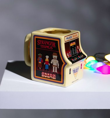 Stranger Things Palace Arcade Shaped Mug