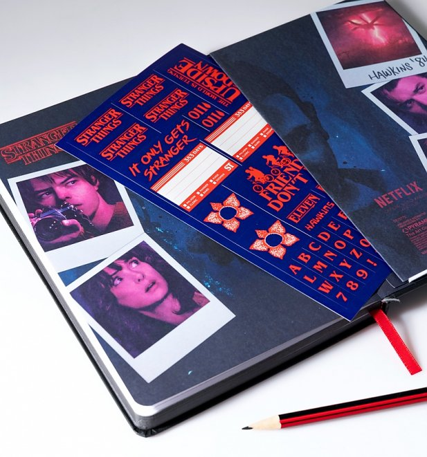 Stranger Things Retro VHS Notebook