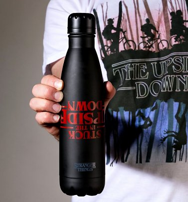 Stranger Things Upside Down Metal Water Bottle