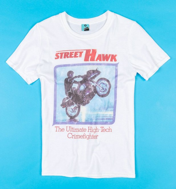 Street Hawk White T-Shirt