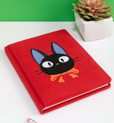 Studio Ghibli Kiki's Delivery Service Jiji Plush Notebook