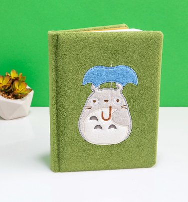 Studio Ghibli My Neighbour Totoro Plush Notebook
