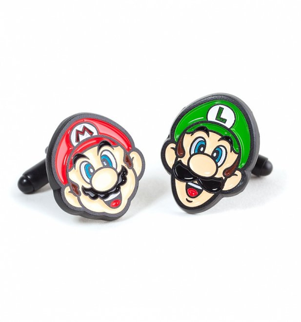 Super Mario Brothers Cufflinks from Difuzed