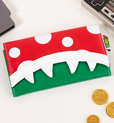 Super Mario Brothers Piranha Purse from Difuzed