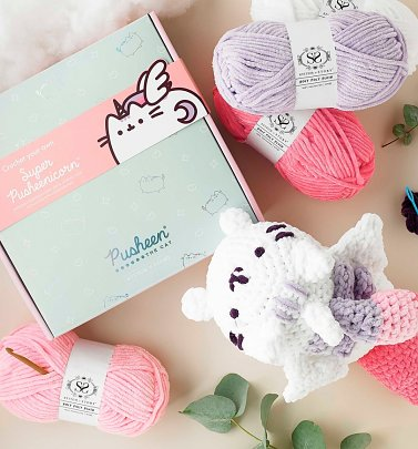 Super Pusheenicorn Amigurumi Crochet Kit from Stitch and Story