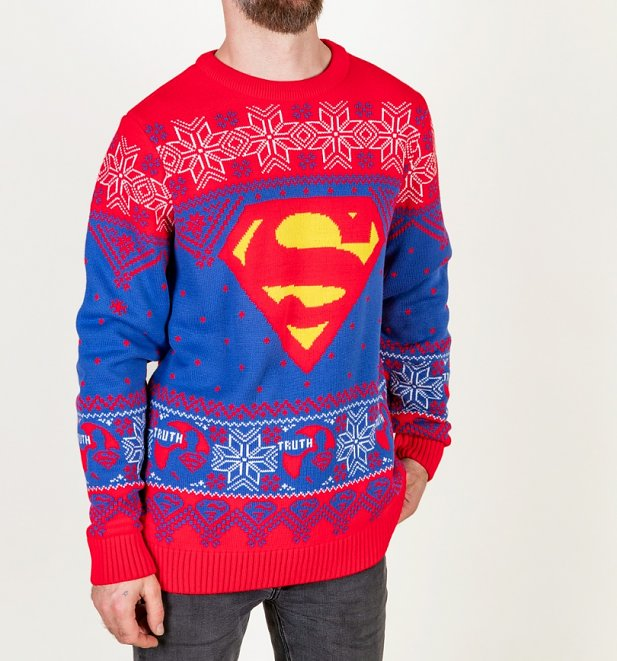 Superman Knitted Jumper