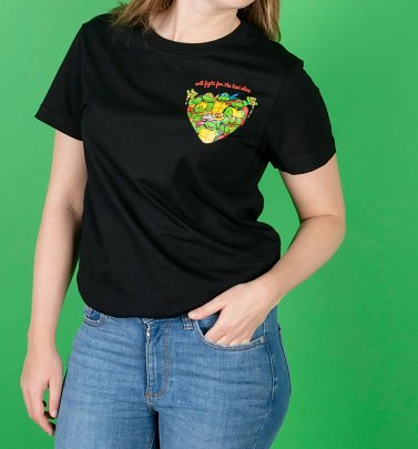 Teenage Mutant Ninja Turtles Last Slice T-Shirt from Cakeworthy