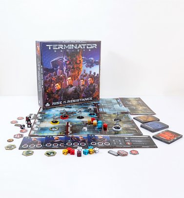 Terminator Genisys Rise Of The Resistance Board Game by Riverhorse