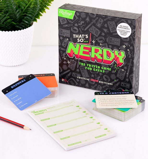 That's So Nerdy Trivia Card Game