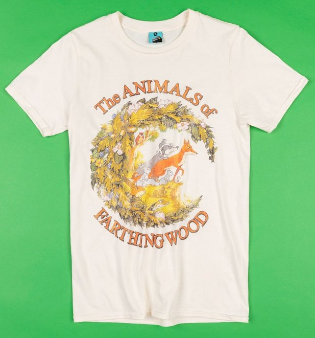The Animals Of Farthing Wood Ecru T-Shirt