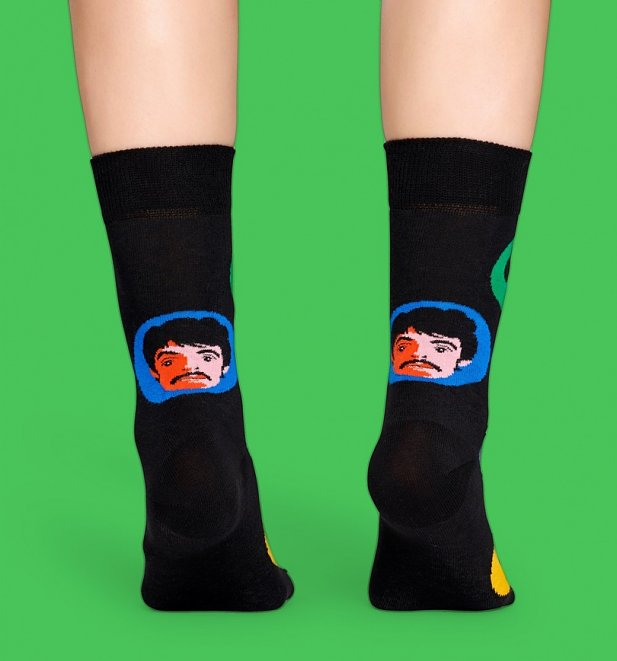 The Beatles Bright Spot Socks from Happy Socks