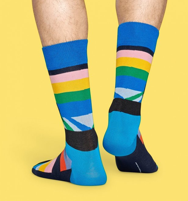 The Beatles Legend Crossing Socks from Happy Socks