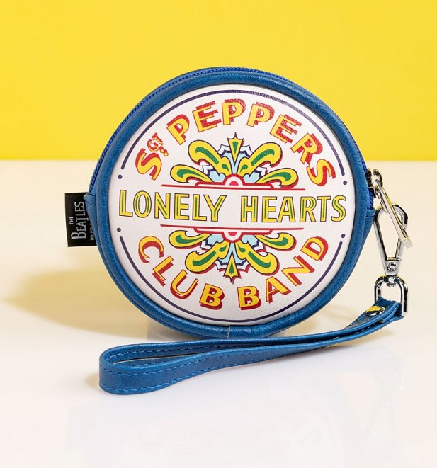 The Beatles Sgt Pepper Coin Purse from Disaster Design