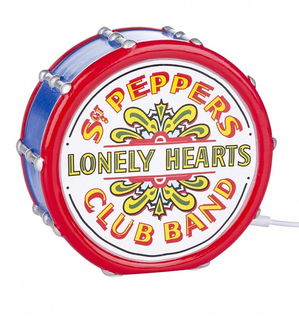 The Beatles Sgt Peppers Lonely Hearts Club Band LED Lamp from Disaster Designs