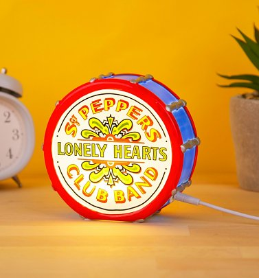 The Beatles Sgt Peppers Lonely Hearts Club Band LED Lamp from House Of Disaster