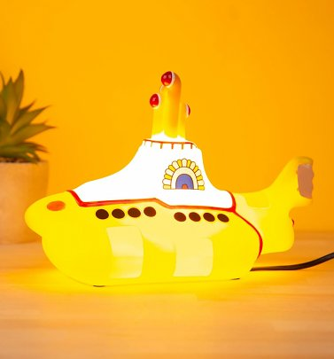 The Beatles Yellow Submarine Table Lamp from House Of Disaster