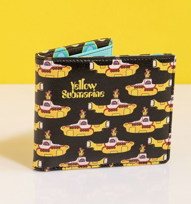 The Beatles Yellow Submarine Wallet from House Of Disaster