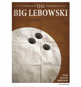 "The Big Lebowski 11.7"" x 16.5"" Art Print"
