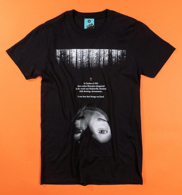 The Blair Witch Project Movie Poster Black T-Shirt