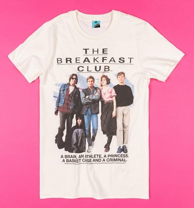 The Breakfast Club Retro Ecru T-Shirt