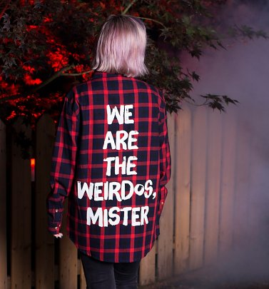 The Craft We Are The Weirdos Mister Flannel Shirt from Cakeworthy