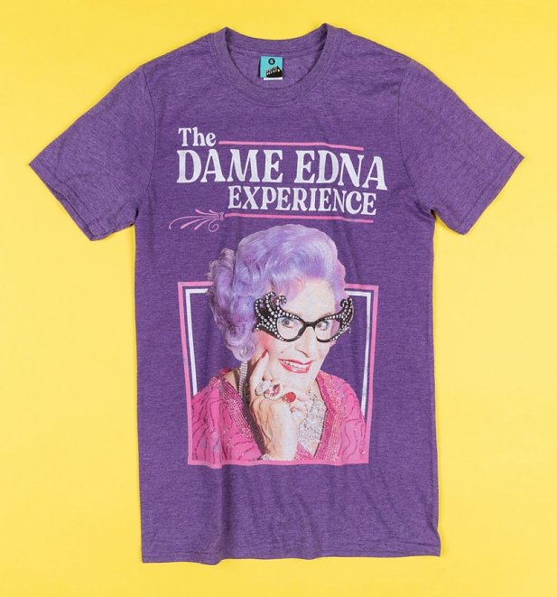 The Dame Edna Experience Purple T-Shirt