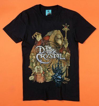The Dark Crystal Skeksis Black T-Shirt