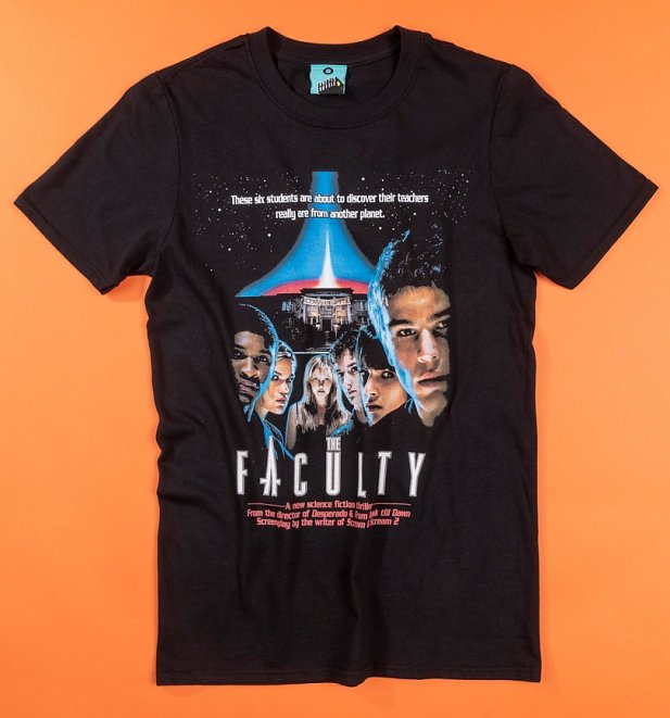 The Faculty Movie Poster Black T-Shirt
