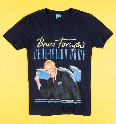 The Generation Game Navy T-Shirt