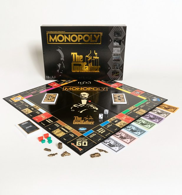The Godfather Monopoly Game Set