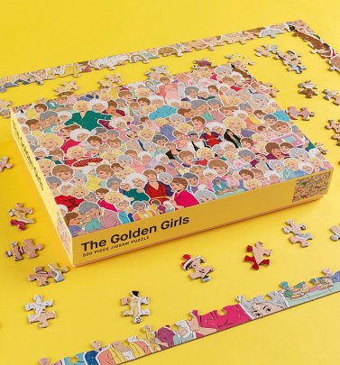 The Golden Girls: 500 piece jigsaw puzzle