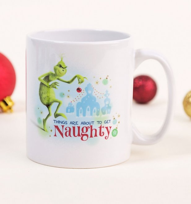 The Grinch Get Naughty Mug