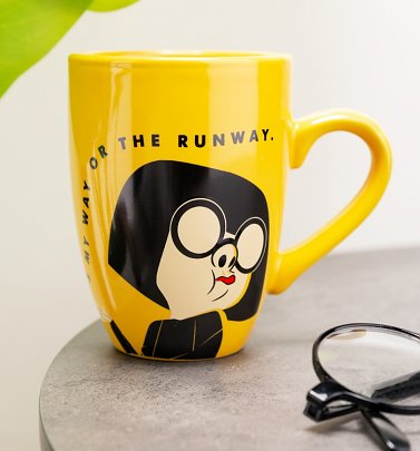 The Incredibles Edna It's My Way Or The Runway Latte Mug