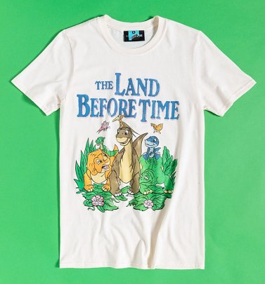 The Land Before Time Scene Ecru T-Shirt