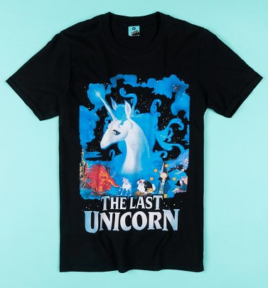 The Last Unicorn Black T-Shirt
