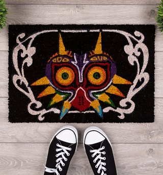 The Legend Of Zelda Majora's Mask Door Mat