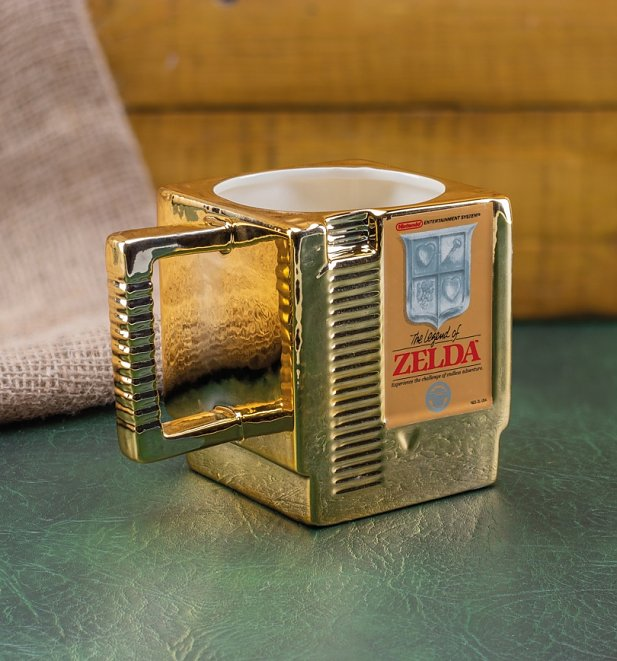 The Legend of Zelda Cartridge Mug