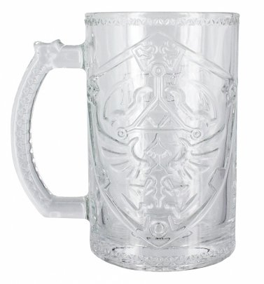 The Legend of Zelda Shield Glass