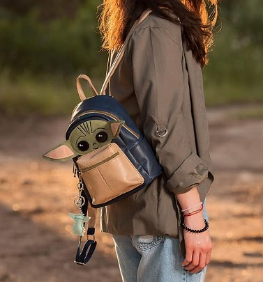 The Mandalorian The Child Mini Backpack