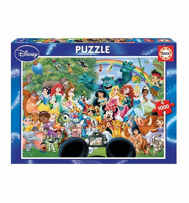 The Marvellous World Of Disney 1000 Piece Jigsaw Puzzle