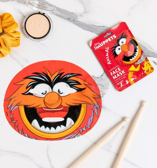 The Muppets Animal Sheet Face Mask from Mad Beauty