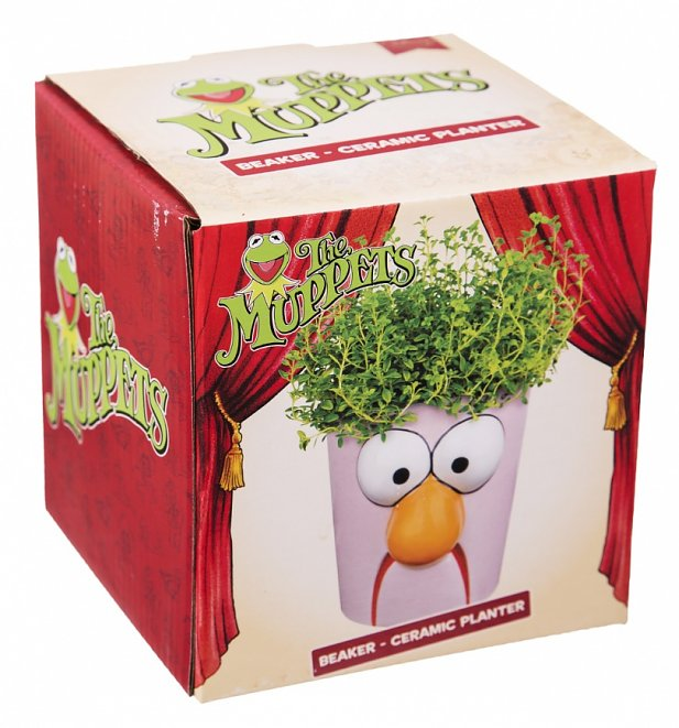 The Muppets Beaker Planter