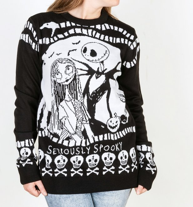 The Nightmare Before Christmas Knitted Jumper