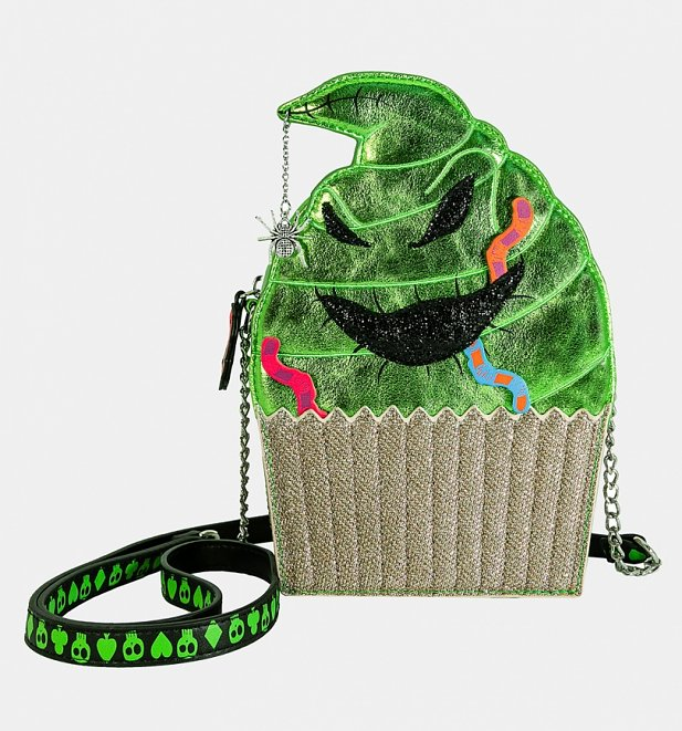 The Nightmare Before Christmas Oogie Boogie Cupcake Disney Crossbody from Danielle Nicole