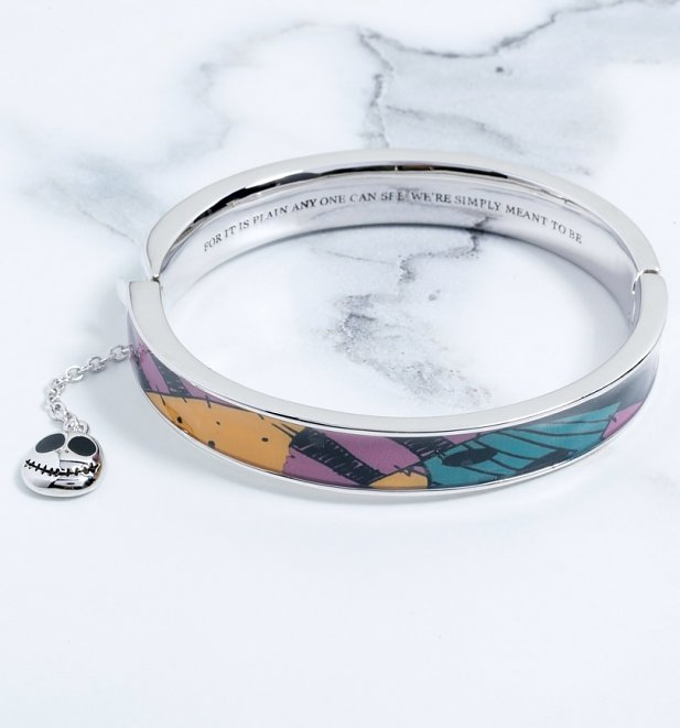 The Nightmare Before Christmas Sally Quote Bangle