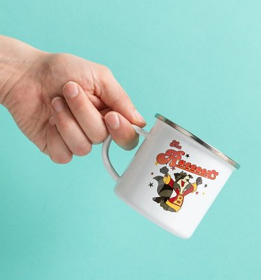 The Raccoons Enamel Mug