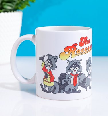 The Raccoons Gang Boxed Mug