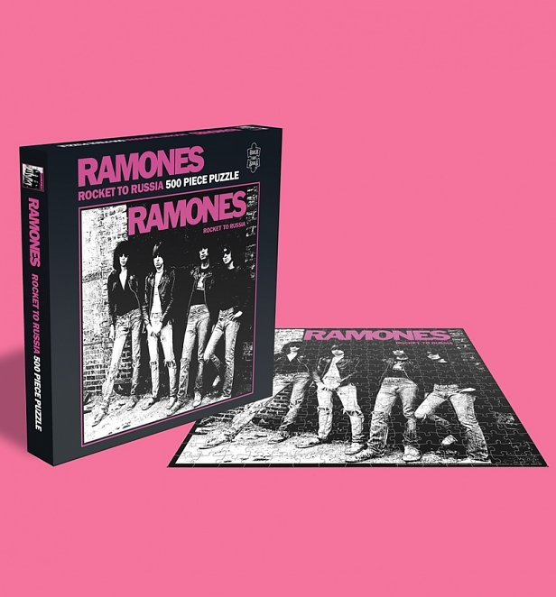 The Ramones Rocket To Russia 500 Piece Jigsaw Puzzle