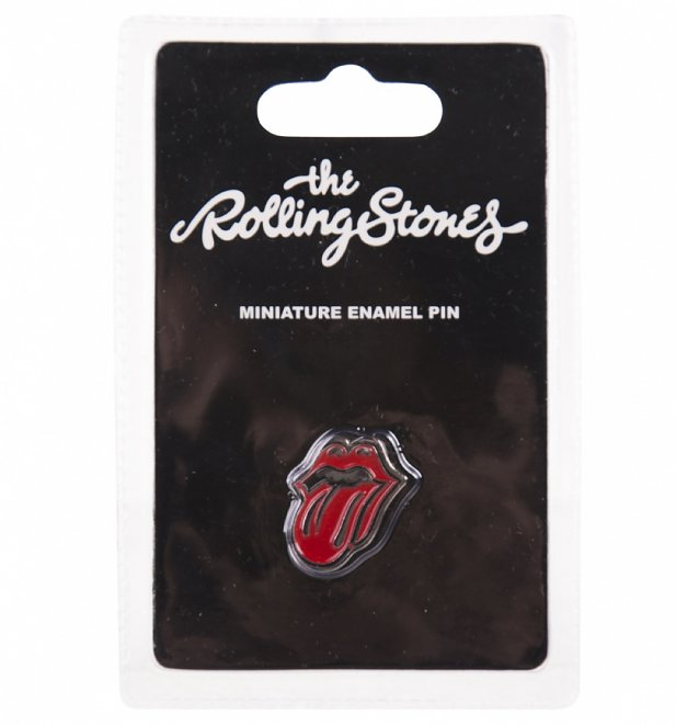 The Rolling Stones Enamel Pin Badge